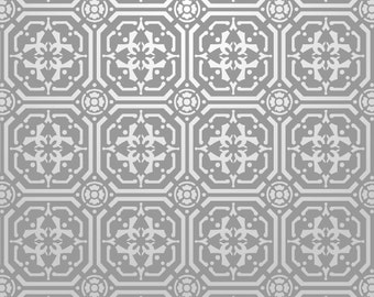 Reusable Wall Stencil Tile Repeat Pattern. Available In 10 or 14 Mil Mylar at no extra charge. SKU: S0010