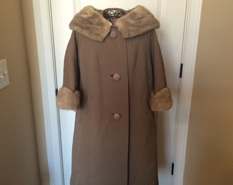 Vintage Coat from George Moore Furs