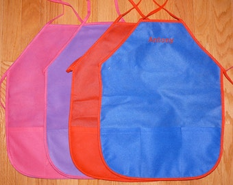 Kids' Art Aprons