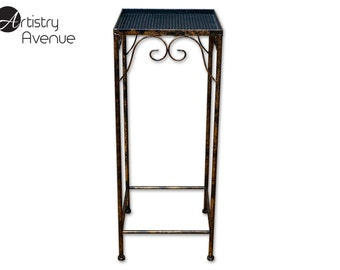 Large Black Plant Stand