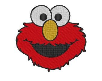 Elmo Stitch Embroidery design. 4 Sizes.