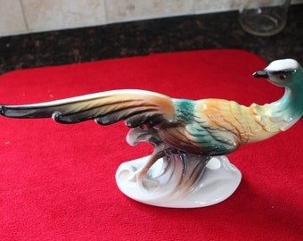 Royal Copley Pheasant Figurine- Extended Tail
