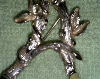 Vintage Sarah Coventry Letter A Brooch