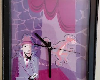 Pink Panther clock