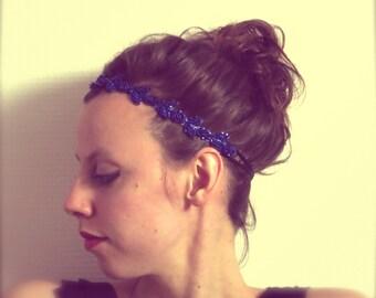 Headband hair style roaring twenties