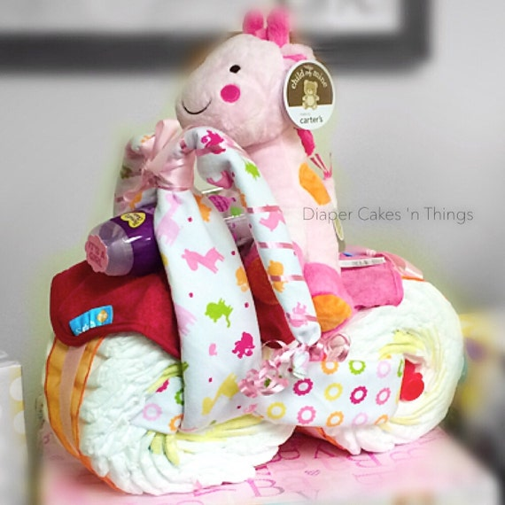 Motorcycle diaper cake tricycle diaper cake baby shower baby gift