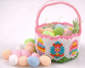 Beaded Easter Basket