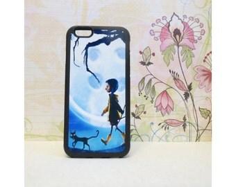 Coraline #1 - Rubber iPhone Case