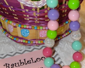 Spring Fever Bubblegum Necklace