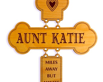 Mothers Day Gift for Aunt,Custom Wall Cross,Gift for a sweet Aunt, To my Aunt,Personalized Aunt Wall Cross,Lovely Aunt Gift,Aunt Keepsake
