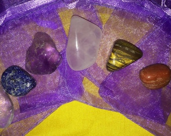 Power Crystal Prescription and Chakra Bags