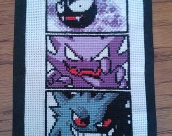 Ghost Pokemon Pattern