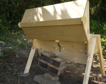 Top Bar Bee Hive, Kenya style hive