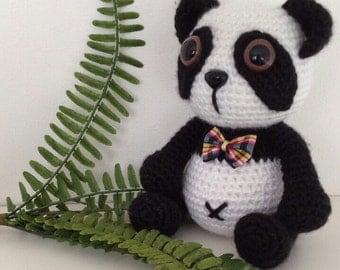 Rick the Panda Crochet Pattern