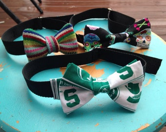 Custom Bow tie dog collars