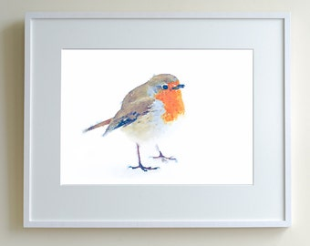 little robin, limited edition print of 150