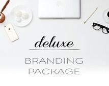 Branding kit, branding package, marketing kit, brand identity kit, business branding, marketing package, custom brand kit, minimal branding