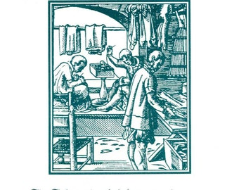Series I, The Tailor - Occupational Bookplate