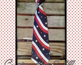 Patriotic Neck Tie