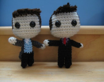 Jack and/or Ianto plushies
