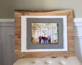 Set of 4 - 8x10 Reclaimed Wood Picture Frame