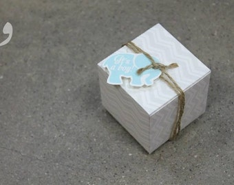 Baby boy favor box | Ideal for your baby showers and new born giveaways.