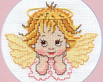 "Сross-stitch pattern ""Little Angel"""