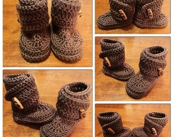 Wrap Crochet Baby Booties made to order to bless you and your little one.