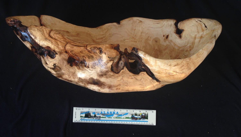 Burl Bowls Alaska Alaskan Birch Burl Bowl