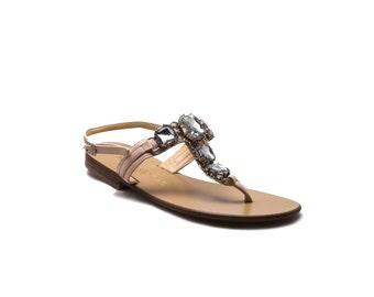 Pantelleria - Handcrafted Leather Sandal,Slipper and Flip flop