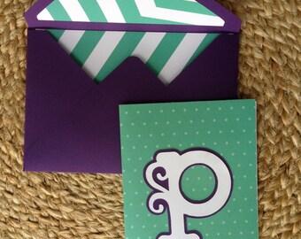 4x6 Initial Card