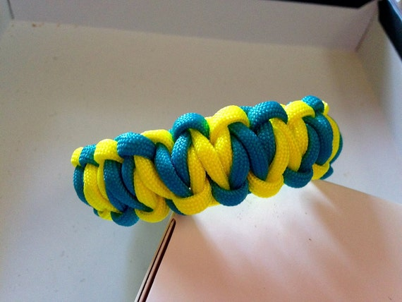items similar to 2 color paracord survival bracelets made