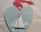 wooden heart, Falmouth wo...