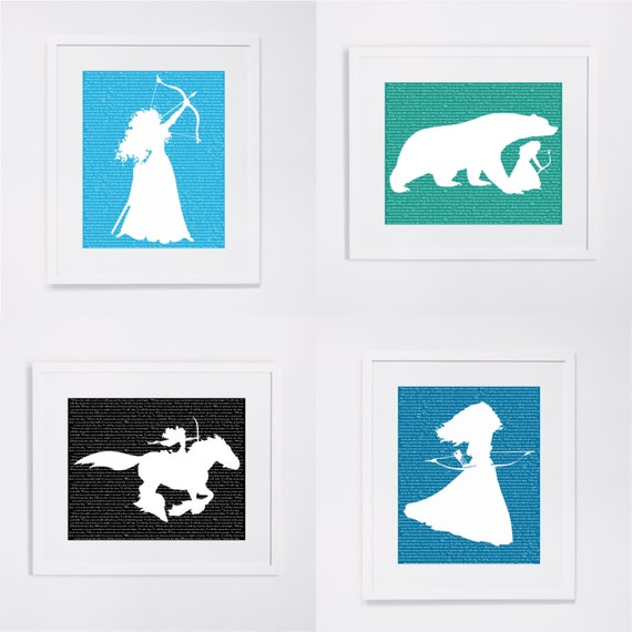 Disney Princess Silhouette Disney Princess Silhouette