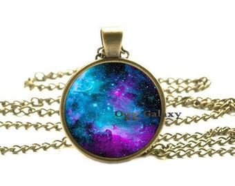 NEBULA Pendant Galaxy Necklace