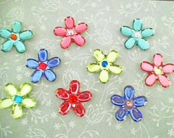 Acrylic Flower Magnets
