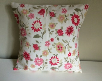 Clarke & clarke wild flower cushion cover