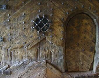 Ancient gate, original photography: 20 x 30 cm