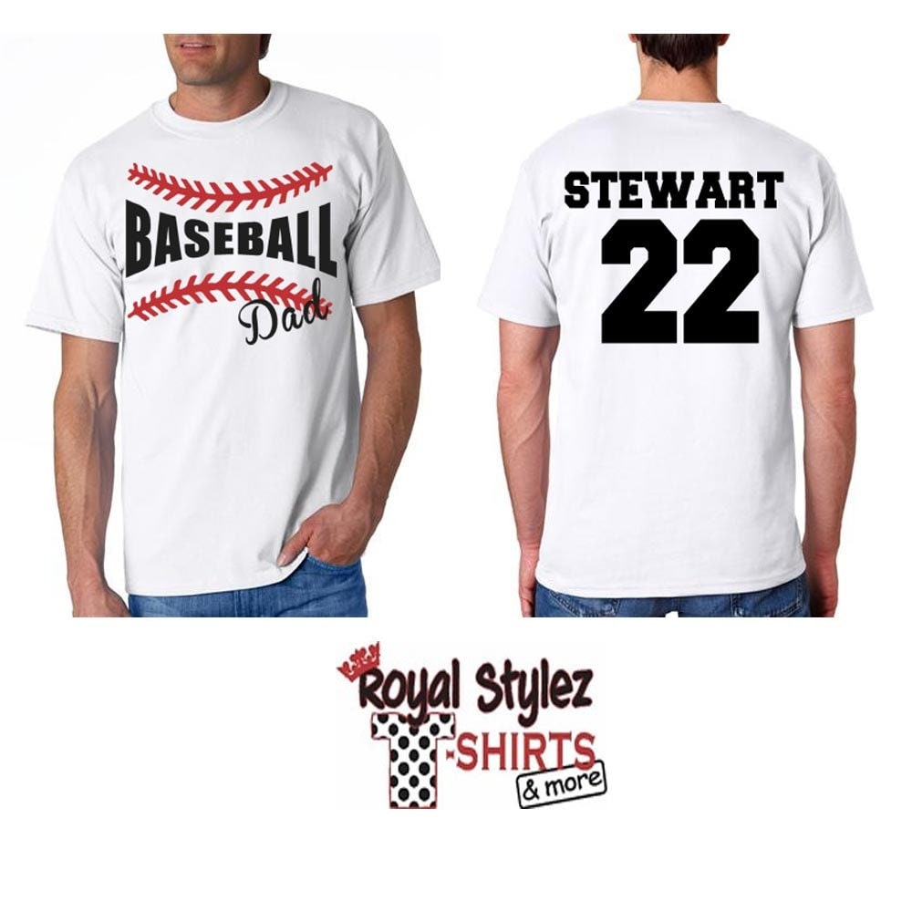 Custom baseball softball fan shirt by royalstylez on etsy Designer baseball shirts