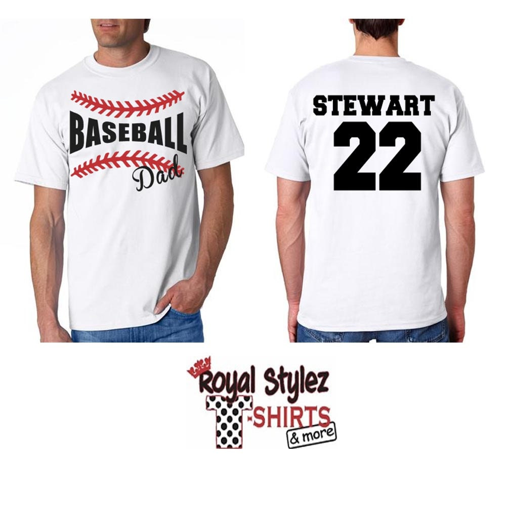 Custom Baseball Softball Fan Shirt By Royalstylez On Etsy: designer baseball shirts