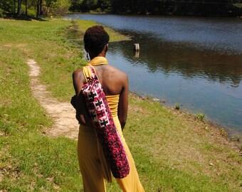 African print Yoga Bag