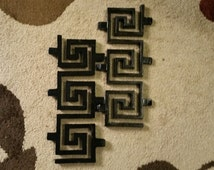 Popular items for wrought iron wall on Etsy