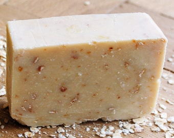Handmade Honey and Oats Shea Butter Soap