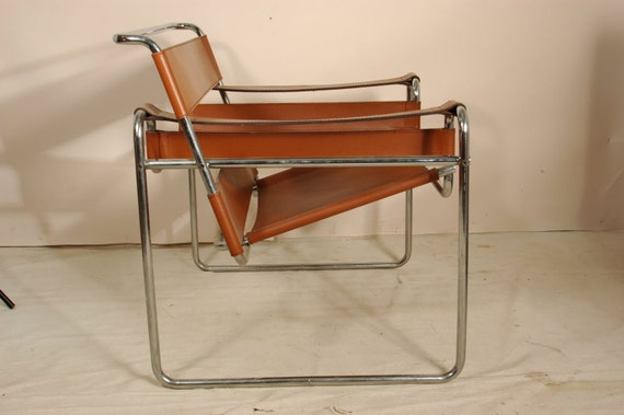 Items similar to marcel breuer wassily style chair - Wassily chair replica ...