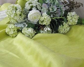 Zoffany Fabrics Chartreuse Linen Fabric
