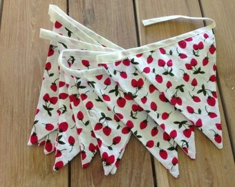 Summer Berries Bunting-Sweet Strawberries