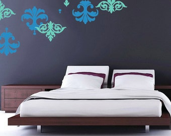 Simple Damask Decal