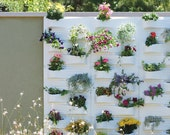 Plant Flower Planter Pot Panel - PlantScape Large Log Vertical Garden Wall Hanging