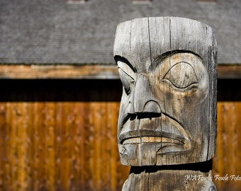 Totem Pole - Fine Art Photography by Bill Fowle
