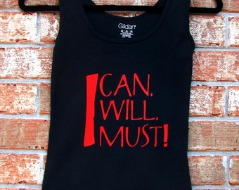 I Can, I Will, I Must!